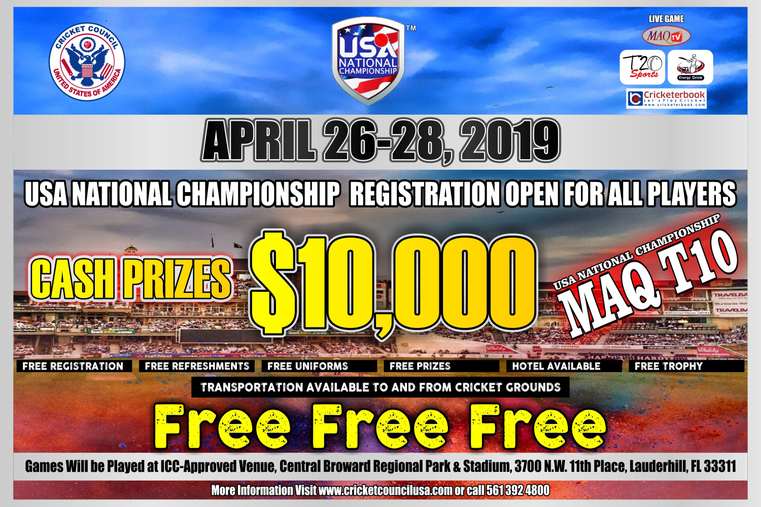 USA National MAQ T10 2019
