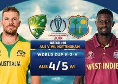 West Indies lose to Aussies